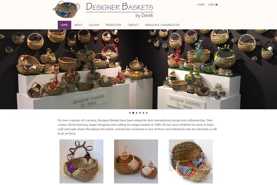 Designer Baskets by Derek