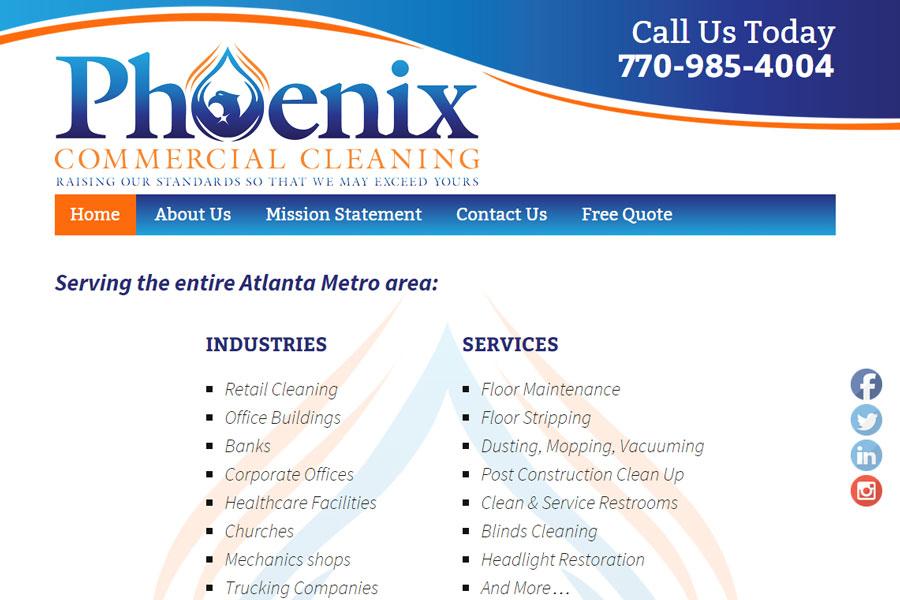 phoenixcommclean.com