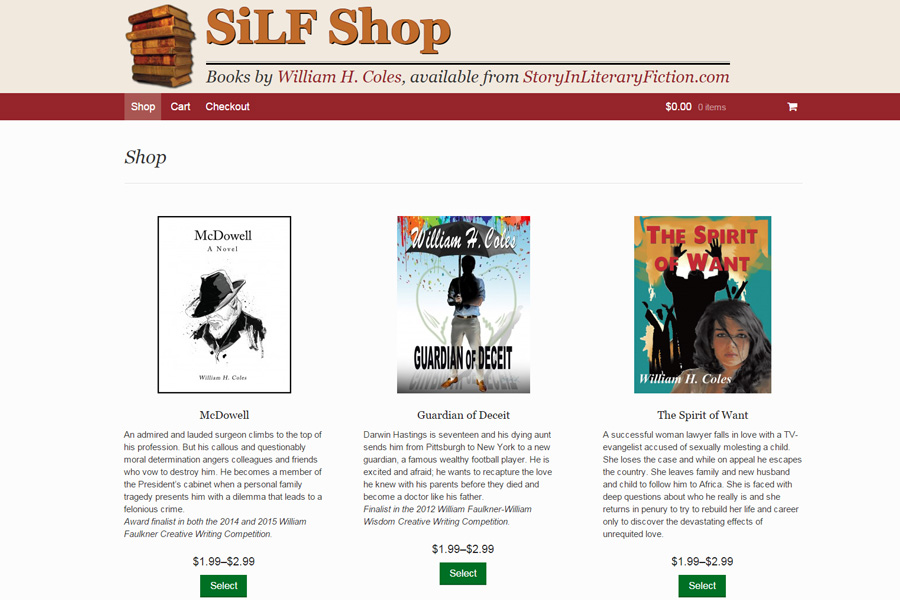 SILF Shop