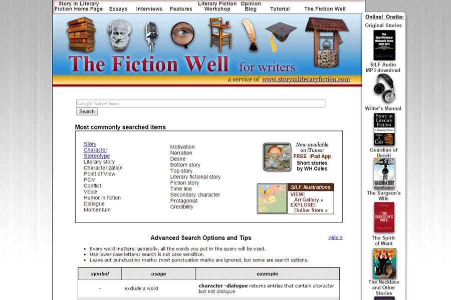 thefictionwell.com