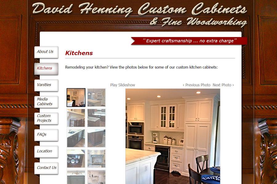 davidhenningcustomcabinets.com